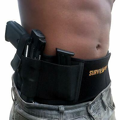 Belly Band Holster | Concealed Carry Holster for Women and Men, Tactical Gun