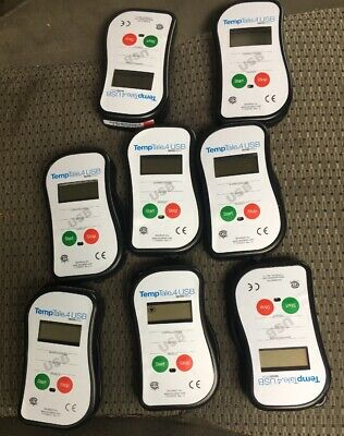 Lot Of(8)NEW TEMPTALE 4 USB MULTI-ALARM MONITOR BY SENSITECH T17007000 REV. A