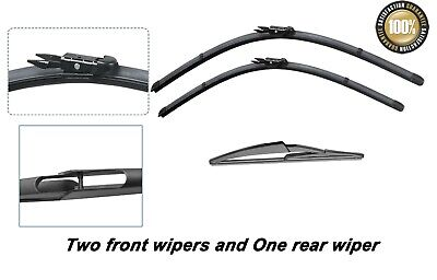 Mercedes-Benz A Class 2004-2012 Brand New Front and Rear windscreen wiper blades