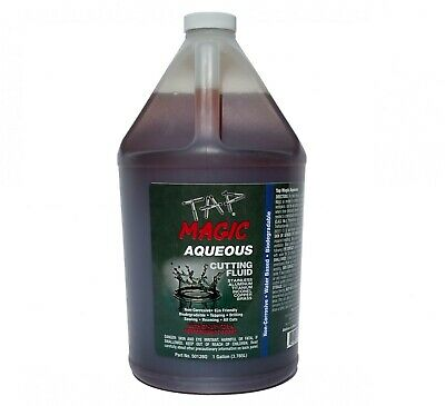 Tap Magic® Aqueous Formula Cutting Fluid, 1 gal bottle