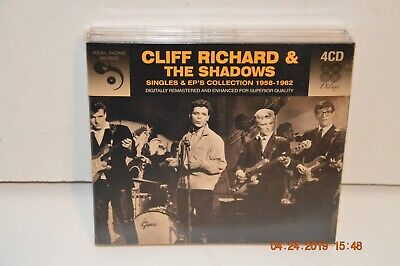 Rare Eu Import: Cliff Richard & The Shadows~Singles And Ep Collection~New Sealed