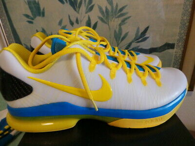 e21ff0e52020 Nike Air Zoom KD 5 V KD5 ELITE blue yellow FREE SOCKS Kevin Durant DS NEW
