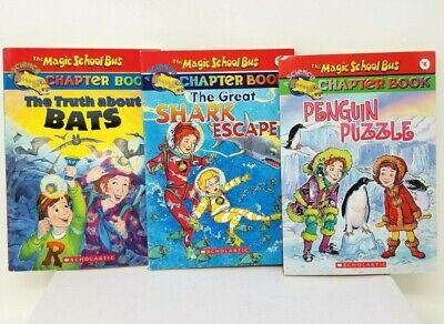 The Magic School Bus and Magic Tree House Lot of 7 Reading Home School