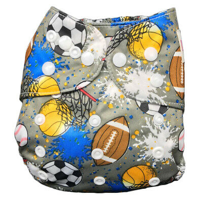 IXYVIA Baby Cloth Diapers Resizable Adjustable Washable Pocket Nappies #2