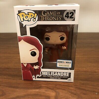Funko Pop Game Of Thrones Melisandre 42 Translucent Barnes & Noble w/ Protector