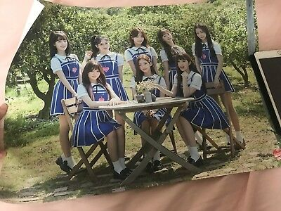 fromis_9  promis9 the 2nd mini to.day 약속회 goods poster bromide