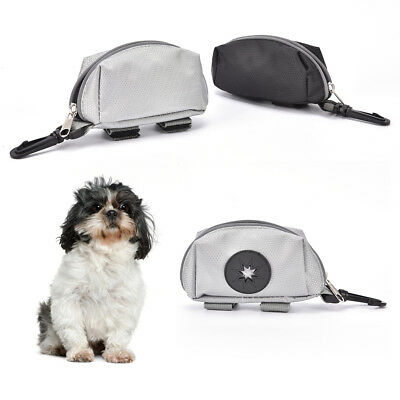 portable pet dog puppy poo waste pick-up bags poop bag holder hook pouch box B$