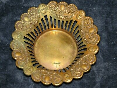 Antique bronze/brass candy dish or ?