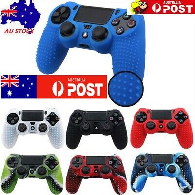 Anti-Slip Soft Silicone Protective Case Cover For PS4/PS4 Slim/Pro Controller