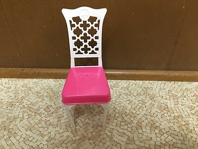 5pcs 1//12 Wooden Kitchen Dining Table Chair Set Barbie Dollhouse Furniture Beige