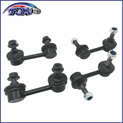 New 4 Front & Rear Sway Bar Link Kit For 06-11 Honda Civic