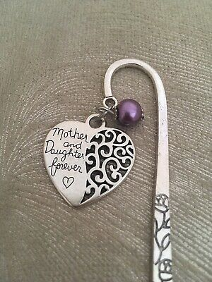 Mother and Daughter Forever Metal Bookmark - Mum or Daughter Gift