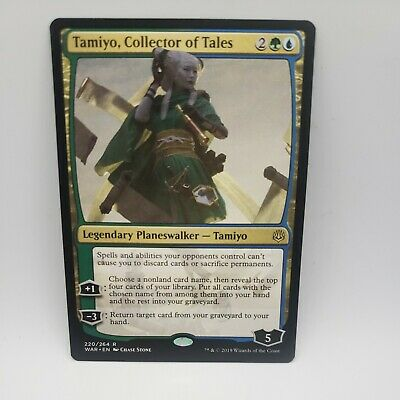 Magic the Gathering: Tamiyo, Collector of Tales x1