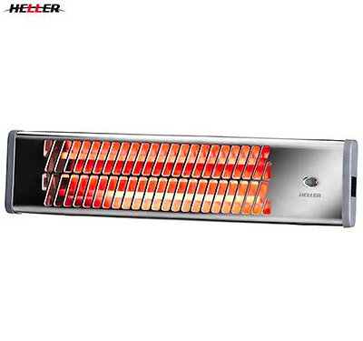 Strip Heater Wall Mounted Overheat protection Water resistant Heller 1500W NEW