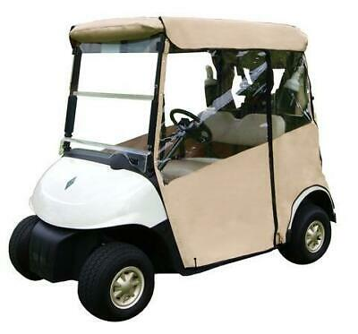 Doorworks Golf Buggy Enclosure Cover 3 Sided (WHITE) Club Car DS (2000+)