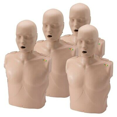 x4 Prestan Professional Training Manikin Adult with CPR Monitor inc. 50 Lung Bag