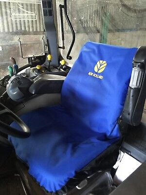 Embroidered with New Holland Logo Heavy Duty Waterproof Tractor Seat Cover