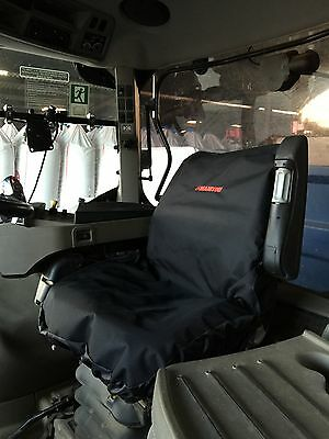 Embroidered with Manitou Logo Telehandler Waterproof Seat Cover