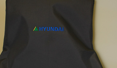 Heavy Duty Excavator Seat Cover to fit  Hyundai, Embroided With  Logo Waterproof