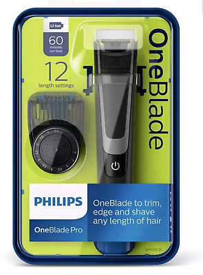 Philips Qp6510 One Blade Pro Trimmer Regolabarba Ricaricabile