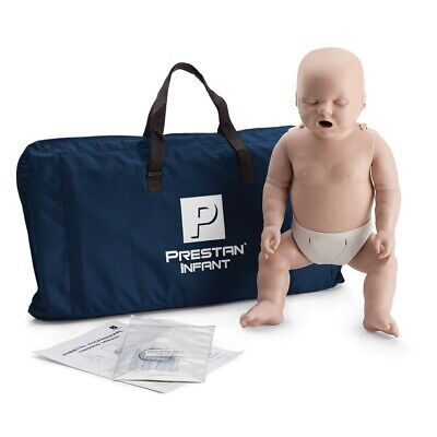 Prestan Professional Training Manikin Infant with CPR Monitor inc 10 Lung Bags