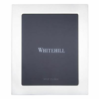 Whitehill - Studio Photo Frame Silver Plated Plain 20x25cm