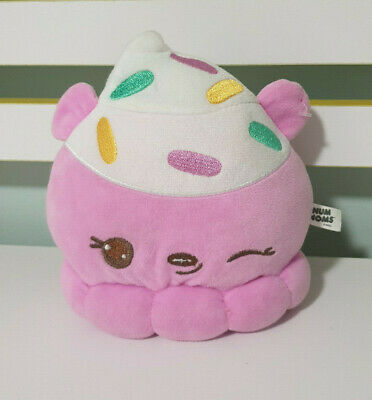 Num Noms Strawberry Ice Cream with Sprinkles 18cm Plush CHARACTER TOY!