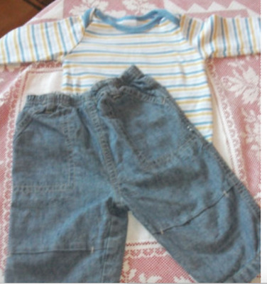 Mothercare & Disney Baby Boys Jeans Outfit Age 3-6 Months