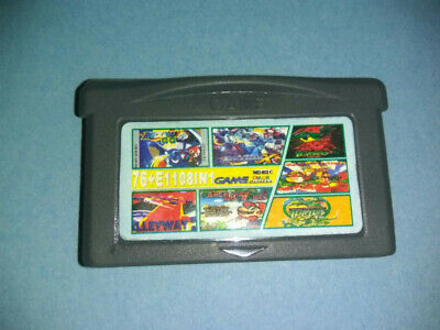 Cartucho Multijuego Gameboy Advance Con Juegos Clasicos 76 In 1 Gba Gbc Game Boy