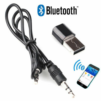 Mini Ricevitore Wireless Bluetooth Stereo USB Adattatore Dongle e AUX Audio Cave