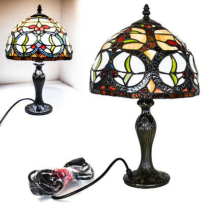 TIFFANY Tree leaves Style Antique Reading Table Home Decor Base Hand Craft Lamp