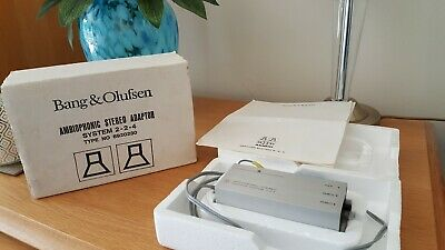 Bang & Olufsen Ambiophonic Stereo Adapter System For Creating Four Channel Sound