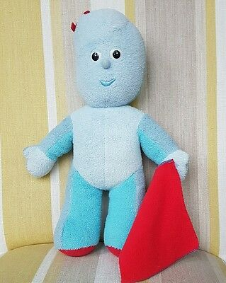 Textures Rattle /& Squeaker In the Night Garden Baby Igglepiggle Soft Plush Toy