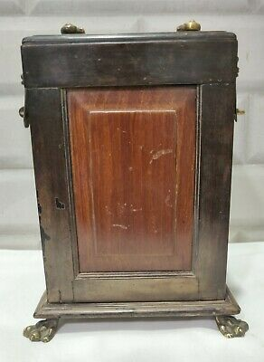 Antique Collectible Wooden Carriage Clock Box