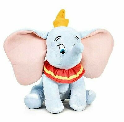 DUMBO PELUCHE DISNEY 100% ORIGINALE 30cm plush OLOGRAMMA CE soft pupazzo TOP NEW