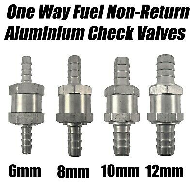 6mm 8mm 10mm 12mm One Way Fuel Non Return Check Valve Petrol And Diesel Oil