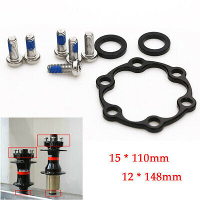 Front/Rear Hub Adapter 15*110 to 12*148 Thru Axle Boost Fork +Screws Practical