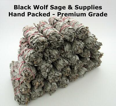 "Wholesale Bulk White Sage Smudge Bundle 4"" Long. 30 Pack. (Premium Grade) Smudge"