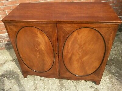 antique regency mahogany  cabinet UK delivery available