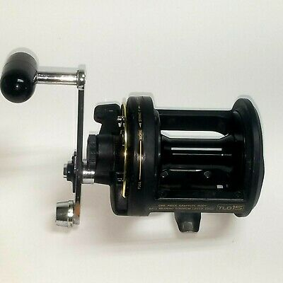 3ebecdc3e68 Shimano TLD-15 Lever Drag Conventional Saltwater Fishing Reel Graphite  Frame EUC