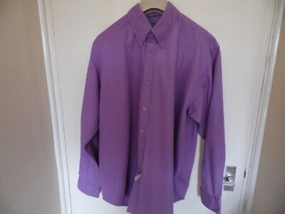 Gents Lilac, long sleeve, button down collar, from Polo, Ralph Lauren size M