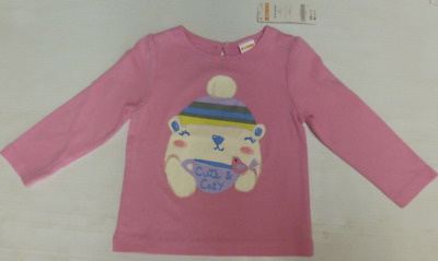 NWT Gymboree Girls Everyday Favorites Pink Striped Peplum Top 18-24 2T 3T 4T 5T