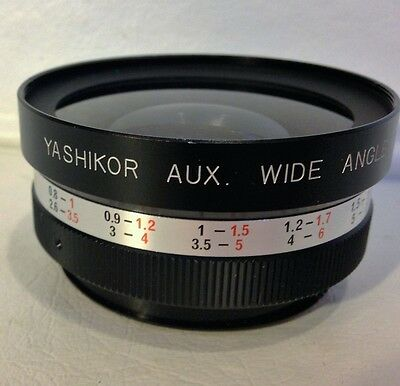 Yashikor Aux. Wide Angle 1:4 ~ Y203 Lens ~ Made In Japan