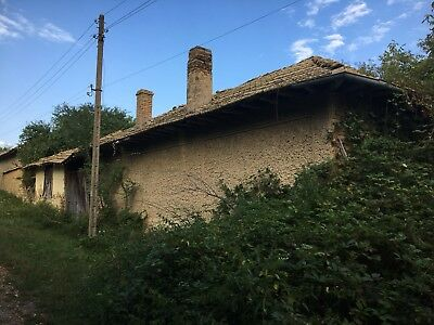 4000 Sq Meters Plot Land Sale 2 Old Houses Barns Scenic View Bulgaria Village