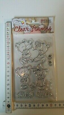 Clear Stamps, craft sensations, boy girl, (18)