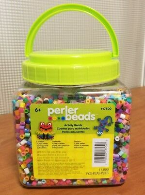 Perler Beads 11,000 Pieces Ages 6+