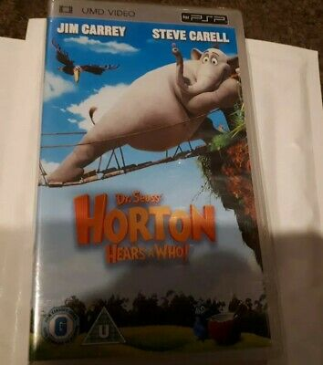 Dr Seuss  Horton Hears A Who   [Umd For The Psp] Sealed New