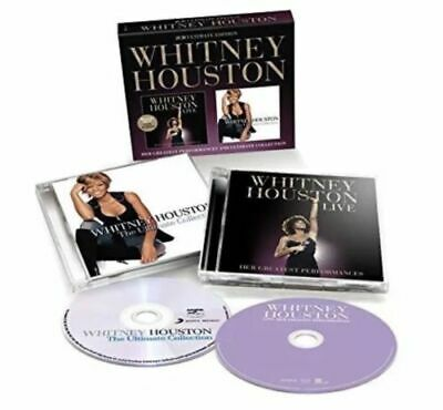 Whitney Houston Live Cd & Ultimate Collection 2 Cd New Sealed Best Of Greatest