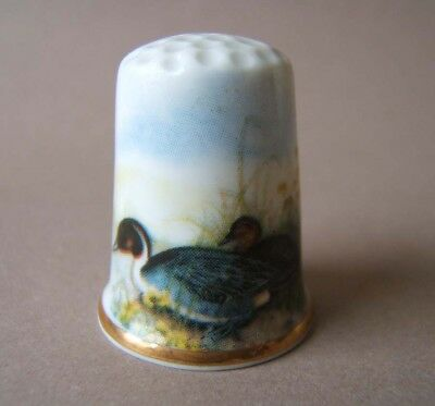 Fingerhut Thimble Birchcroft China mit Enten