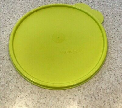 Tupperware Seal Replacement Lid Butterfly-Tabbed Salsa Verde Lime Green 2517